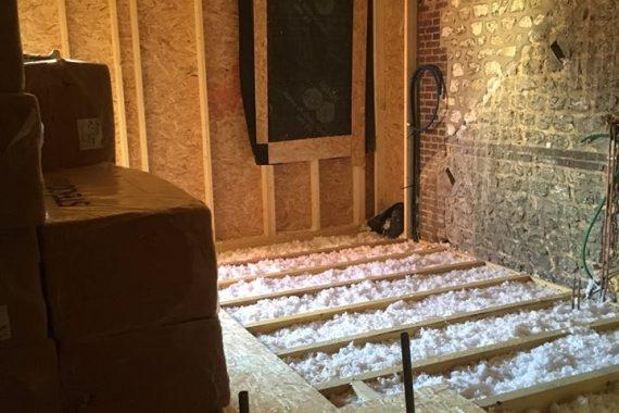 Agrandissement ossature bois et couverture zinc projet