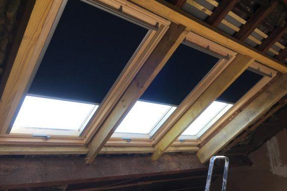 Création fenêtre de toit trio velux artisan