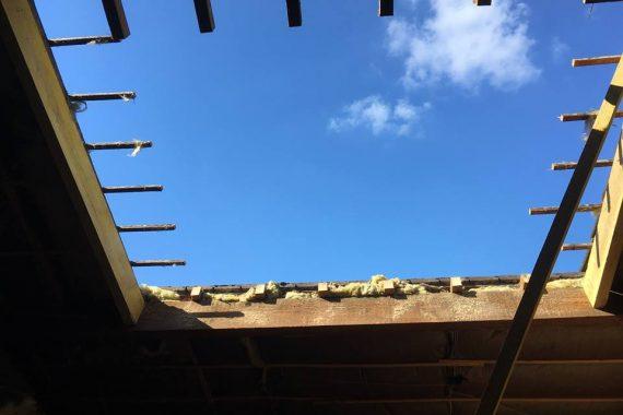 Création fenêtre de toit trio velux projet